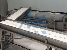 速冻饺子生产线的各个环节