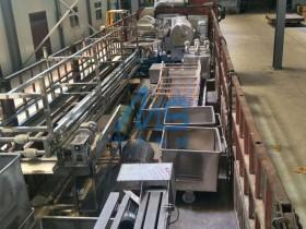 广安客户速冻水饺生产线发货现场