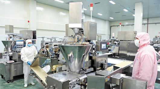 速冻水饺生产线