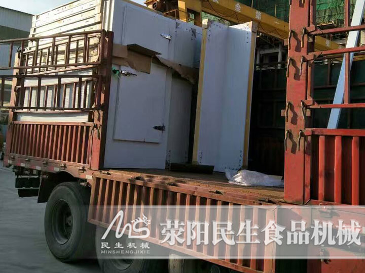 一天5吨饺子速冻隧道报价多少